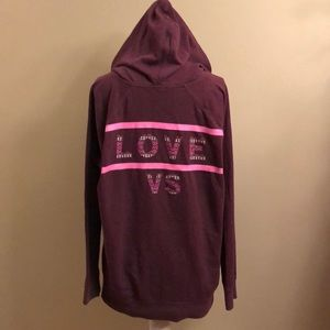 LIKE NEW-VS hoodie